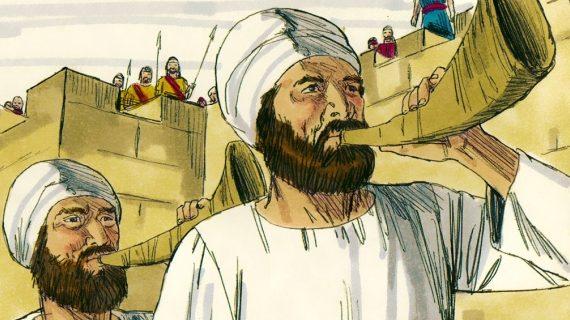 Piibliuudised: Linnamüüride hävitamine pelgalt kõndimise ja karjumisega