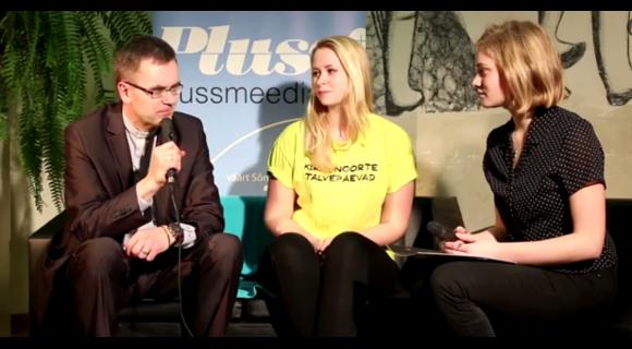 Videointervjuu: Markus Haamer & Kristel Leppik - Põltsamaa talvepäevad 2015