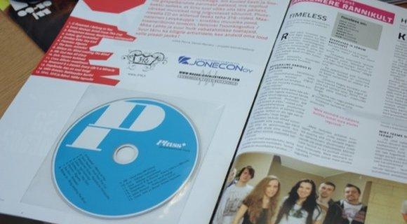 Uue Pluss-ajakirjaga on kaasas tasuta CD